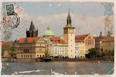 Background, stylized as vintage postcard Royalty Free Stock Photos