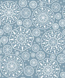 Background with stylized  Christmas  snowflake Stock Images