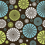 Background with stylized flowers Royalty Free Stock Photography