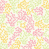 Background Stylized Leaves Allover Royalty Free Stock Photos