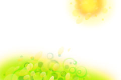 Background summer Royalty Free Stock Photos