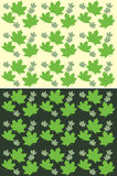 Background summer leafs Royalty Free Stock Image