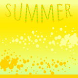 Background summer melon mood Royalty Free Stock Photos