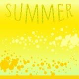 Background summer melon mood Royalty Free Stock Photos