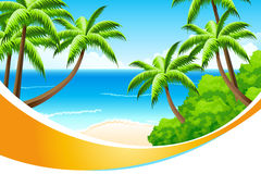 Background Summer Vacation Royalty Free Stock Photos
