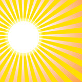 Background sun. Yellow pink sun abstract background Vector Illustration