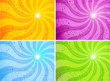 Background Sun. Colorful sunny background illustration,corporate design Royalty Free Stock Photos