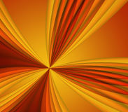 Background of sun & star rays Royalty Free Stock Images