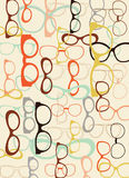 Background from sunglasses. Royalty Free Stock Images