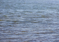 Background of the surface of the lake water.  royalty free stock photography