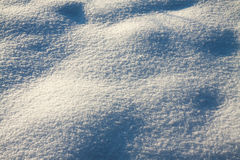 Background from surface snow  shiny in sun Royalty Free Stock Photo