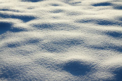 Background from surface snow  shiny in sun Royalty Free Stock Photos