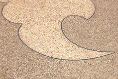 Background surface of terrazzo floo Royalty Free Stock Image
