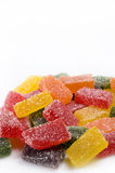 Background of sweet candies in sugar Stock Image