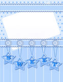 Background with sweet decorations Royalty Free Stock Photography