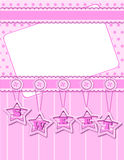 Background with sweet decorations Royalty Free Stock Photo