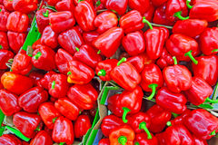 Background of sweet pepper Royalty Free Stock Photos