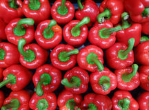 Background sweet red pepper Royalty Free Stock Photography