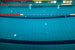 Background with a swimming pool Stock Images