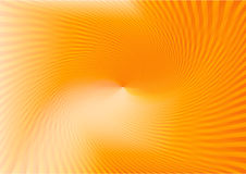 Ray swirl orange no1 Stock Image