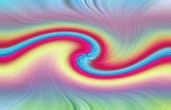 Background swirl swirling colours rainbow vertigo dream. Concept photo of rainbow colours swirling in a vortex vertigo pattern ideal for own text etc stock illustration