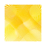 Ray swirl yellow no2 Royalty Free Stock Image