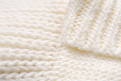 Background of swirling light knitted thing Royalty Free Stock Images