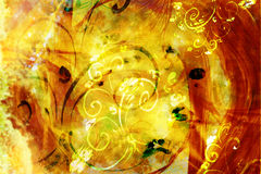 Background with swirls Royalty Free Stock Images