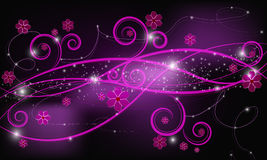 Background with swirls Royalty Free Stock Photography