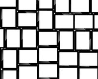 Background from tablets. Background consisting of many sets of tablets for designers for various necessities Stock Photography