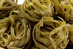A background of tagliatelle paglia e fieno Stock Image