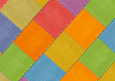 Background - tailored slices of a fabric Royalty Free Stock Photography