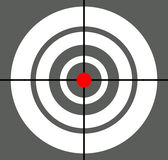 Background with target, reticle, crosshair symbol. Icon for foca. L point, accuracy, target range, precision concepts - Royalty free vector illustration stock illustration