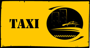 Background for taxi services Stock Photos