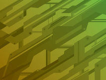 Background techno lines Royalty Free Stock Images