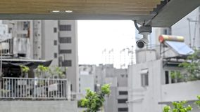 Background technology security cameras monitoring people controll private lives, digital systems, spy. Big brother. Military defender asia china scanning and stock video footage