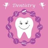 Background, teeth, dental instruments, dental care. Teeth, dental instruments, dental care Royalty Free Stock Photos