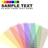 Background template. Business presentation background template multicoloured Stock Images
