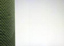 Background template with household item. Texture of kitchen wallpaper on one side of the frame Royalty Free Stock Photos