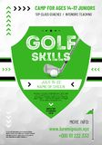 Background or template for your golf design vector illustration