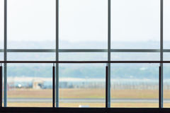Background of terminal window in airport Royalty Free Stock Image