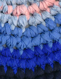 Background - textile - crochet Royalty Free Stock Images