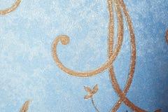 Patterned blue Wallpaper. Background for textile design. Wallpaper blue pattern stock photos