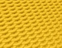 Background of textile texture. Color knitting fabric. Abstarct 3D render pattern Royalty Free Illustration