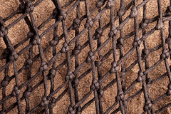 Background Texture abstract - patterns in Lobster Pot Net! Royalty Free Stock Image