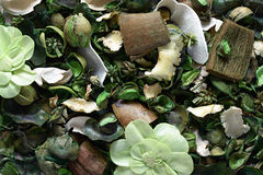 Background texture of aromatic potpourri Stock Photo