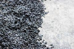 Background texture of an asphalt. Close up Stock Photo
