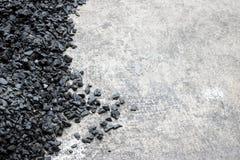 Background texture of an asphalt. Close up Stock Image