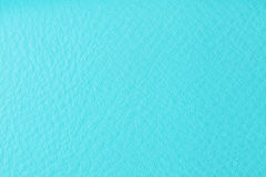 Background with texture of azure leather Stock Image