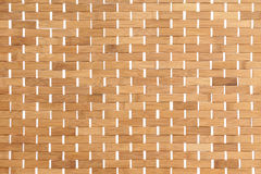 Background texture of a bamboo mat Royalty Free Stock Photo